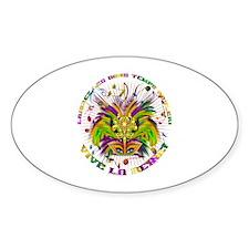 Mardi Gras Queen 4 Bumper Stickers