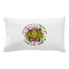 Mardi Gras Queen 4 Pillow Case