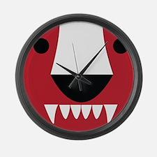 Honey Badger Large Wall Clock