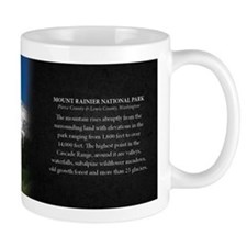 Mount Rainier National Park Historical Mug Mug