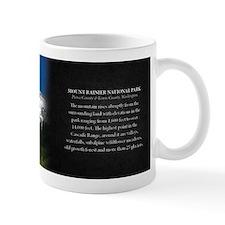 Mount Rainier National Park Historical Small Mug Small Mug
