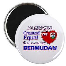 "Bermudan wife designs 2.25"" Magnet (10 pack)"