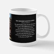 The Cherokee National Capitol Historical Mug Mug