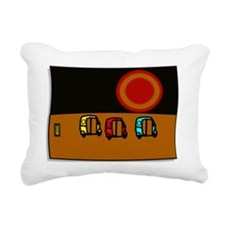 Goan Sunset by MOIC Rectangular Canvas Pillow