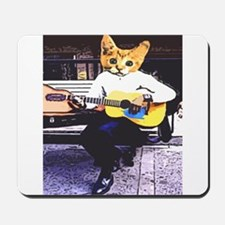 Street Cat Music Mousepad
