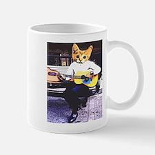 Street Cat Music Mug