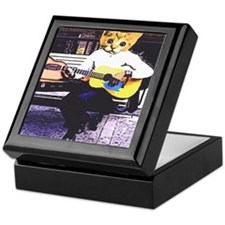 Street Cat Music Keepsake Box
