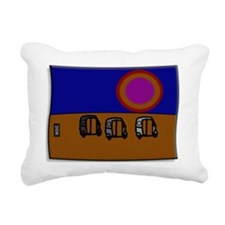 Goan Sunset Rectangular Canvas Pillow