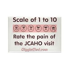 Pain o' JCAHO Rectangle Magnet