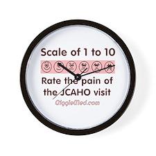 Pain o' JCAHO Wall Clock