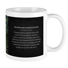 The Benjamin Harrison Home Historical Mug Mug