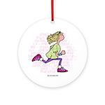 Runner IV Ornament (Round)