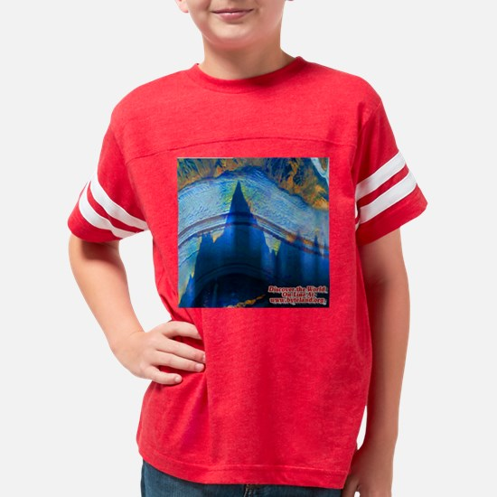 Discover the World:  Ghost Mo Youth Football Shirt