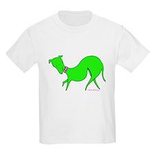 Green Prissy Kids T-Shirt
