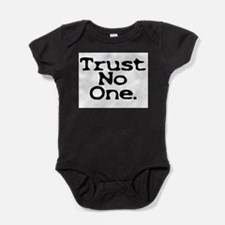 trust no one upper case.jpg Body Suit
