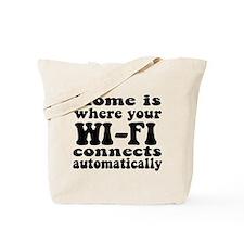 Home Wi-Fi Tote Bag