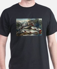 Brook trout--just caught - 1907 T-Shirt