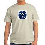 Large Sand Dollar Light T-Shirt