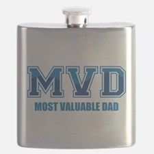 Most Valuable Dad Flask