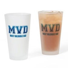 Most Valuable Dad Drinking Glass
