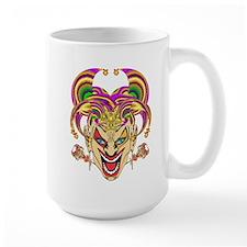 Mardi Gras Jester Mug