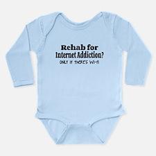 Wi-fi Rehab Long Sleeve Infant Bodysuit