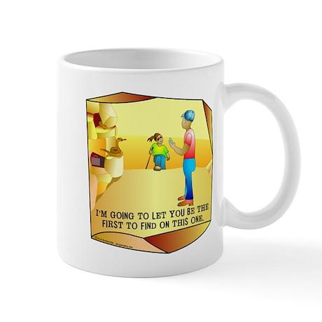 Geocaching First to Find Mug