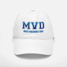 Most Valuable Dad Baseball Baseball Cap