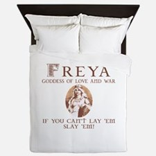 Freya Love and War Queen Duvet