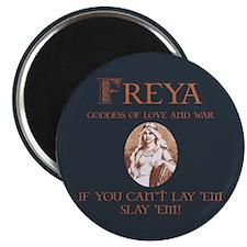 "Freya Love and War 2.25"" Magnet (10 pack)"