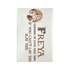 Freya Love and War Rectangle Magnet (10 pack)