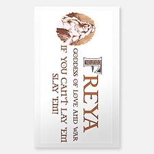 Freya Love and War Decal