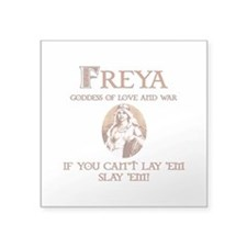 Freya Love and War Sticker