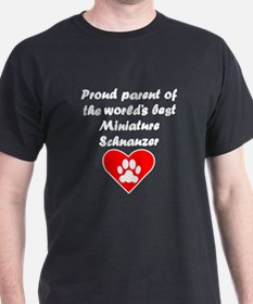 Miniature Schnauzer Parent T-Shirt