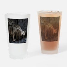 Painted Grotto Drinking Glass