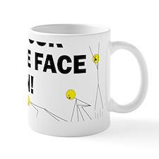 Burpee Face Mug