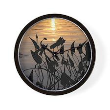 Reedy Pool - Wall Clock