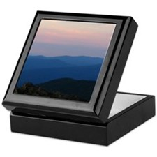 Blue Ridge Mountain Sunset - Keepsake Box