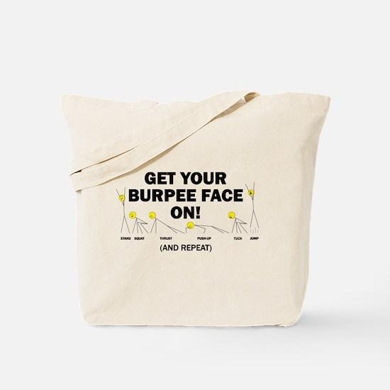 Burpee_Face Tote Bag