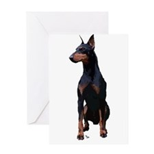 Mollys Manchester Terrier Greeting Card
