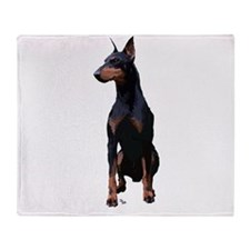 Mollys Manchester Terrier Throw Blanket