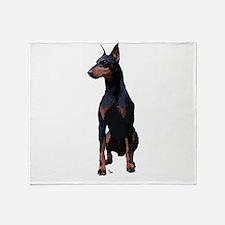 Mollys Manchester Terrier Throw Blanket