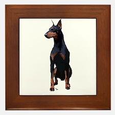 Mollys Manchester Terrier Framed Tile