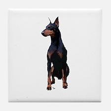 Mollys Manchester Terrier Tile Coaster