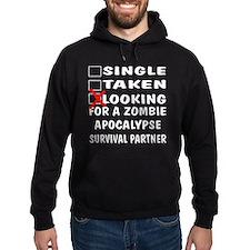 Zombie Apocalypse Partner Hoodie