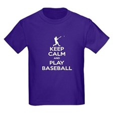 Keep Calm and Play Baseball T