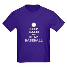Keep Calm and Play Baseball v2 T