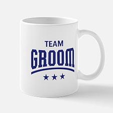 Team Groom (Stars, Blue) Mug