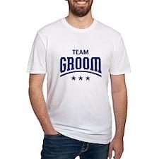 Team Groom (Stars, Blue) T-Shirt