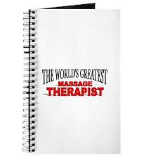 """The World's Greatest Massage Therapist"" Journal"